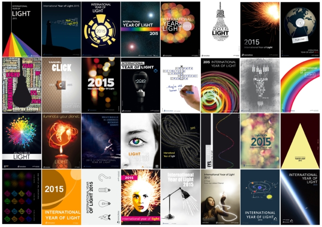IYL 2015 Postcard. Credits: University of Offenburg