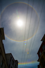 First and Second order Circular Rainbow in Nyalam, Tibet 2014. Credits: Antigone Marino