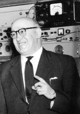 Louis Essen, FRS (1908-1997). Credits National Physical Laboratory.