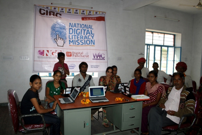 Optical Fiber is reaching Indian Villages. Credits: Digital Empowerment Foundation (DEF).