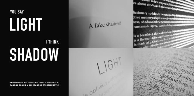 You say Light, i think Shadow. Credits: Aleksandra Stratimirovic.