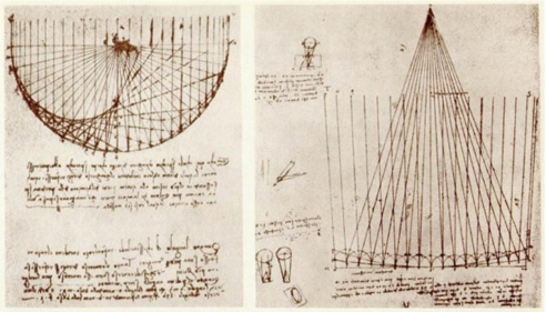 Image result for da Vinci astronomy