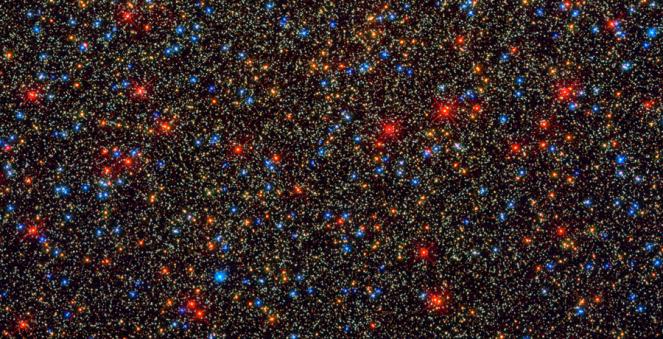 The Omega Centauri Globular Star Cluster.  Credit:  NASA, ESA, HST SM4 ERO Team
