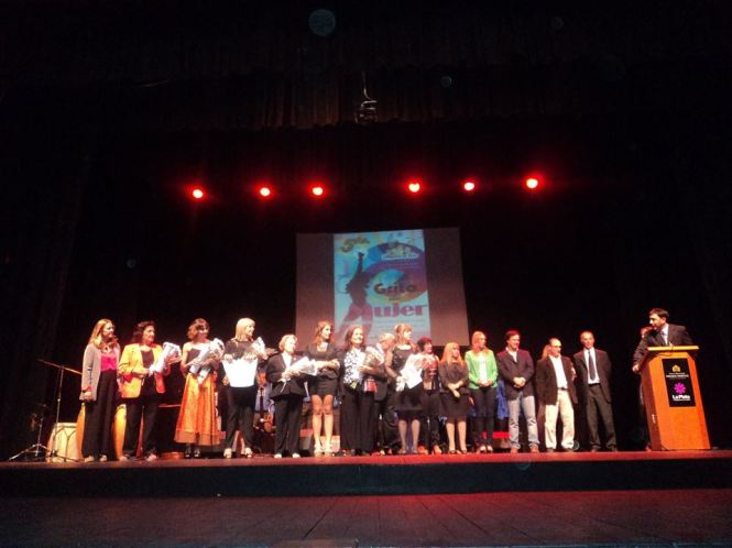 Woman scream 2015 event in La Plata, Argentina. Credit: Woman Scream International Poetry and Arts Festival 2015