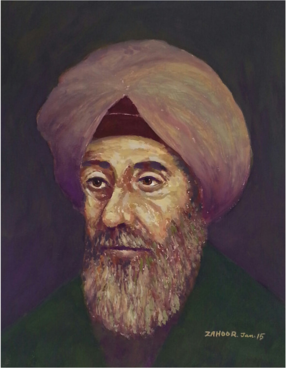 Portrait of Ibn  Al Haytham. Credit: Prof. Zargar Zahoor