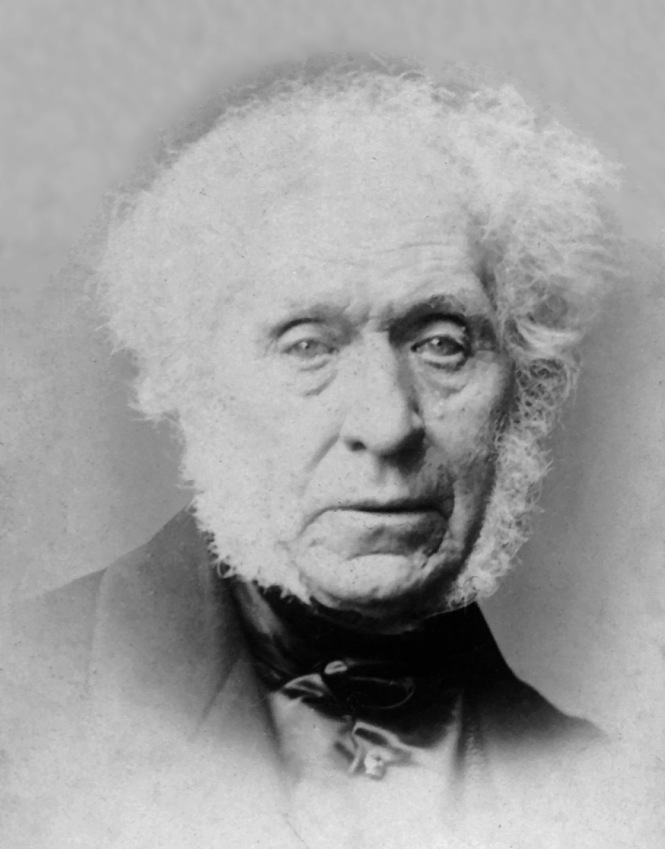 David Brewster (1781-1868) advanced the study of polarization, finally finding Brewster's Angle, the exact angle at which light is polarized when reflecting off certain surfaces. Credit: Wikimedia Commons.