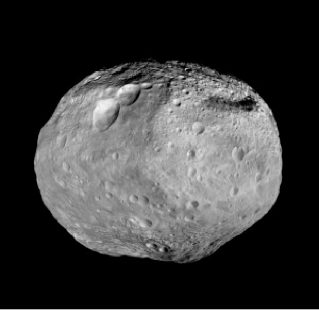 Protoplanet Vesta, which Dawn explored in 2011-2012. Scientists consider Vesta to be more closely related to the terrestrial planets, including Earth, than to typical asteroids. Credit: NASA/JPL-Caltech/UCLA/MPS/DLR/IDA