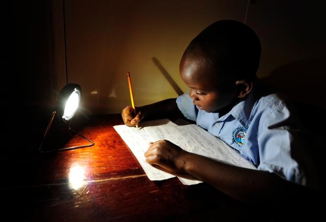 Christopher, Zambia. Credit: Patrick Bentley/SolarAid