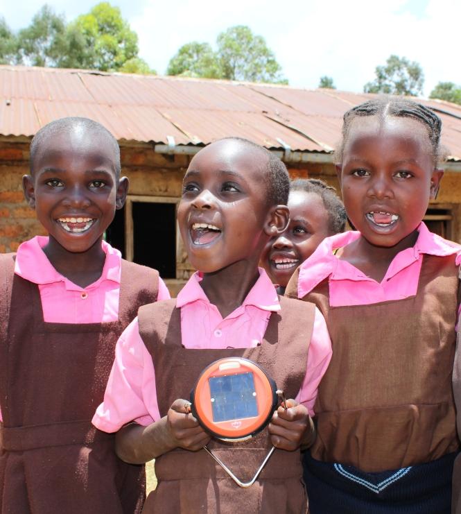 Nyakembene Primary School, Kisii county. Credit: Kat Harrison/SolarAid