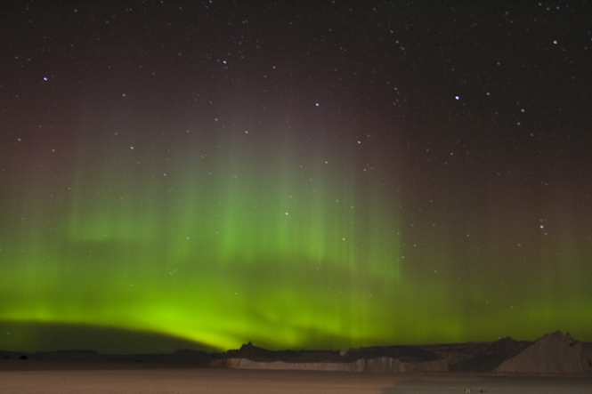 Aurorae are mostly caused by energetic electrons precipitating into the atmosphere.