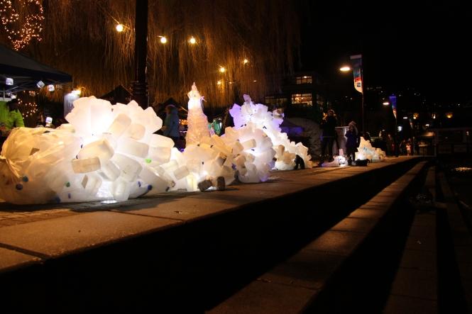 Icebergs, Luci Lights, Earnslaw Park Queenstown 2015. Credit: Kristin O'Sullivan Peren.
