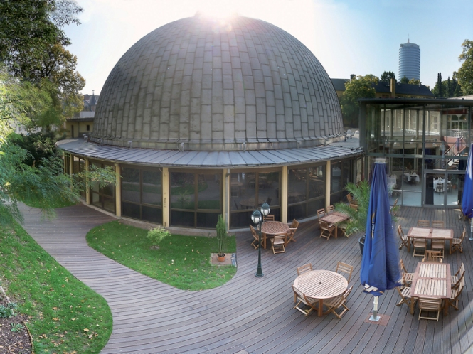 ZEISS Planetarium in Jena, Germany. Credit: Sternevent GmbH.