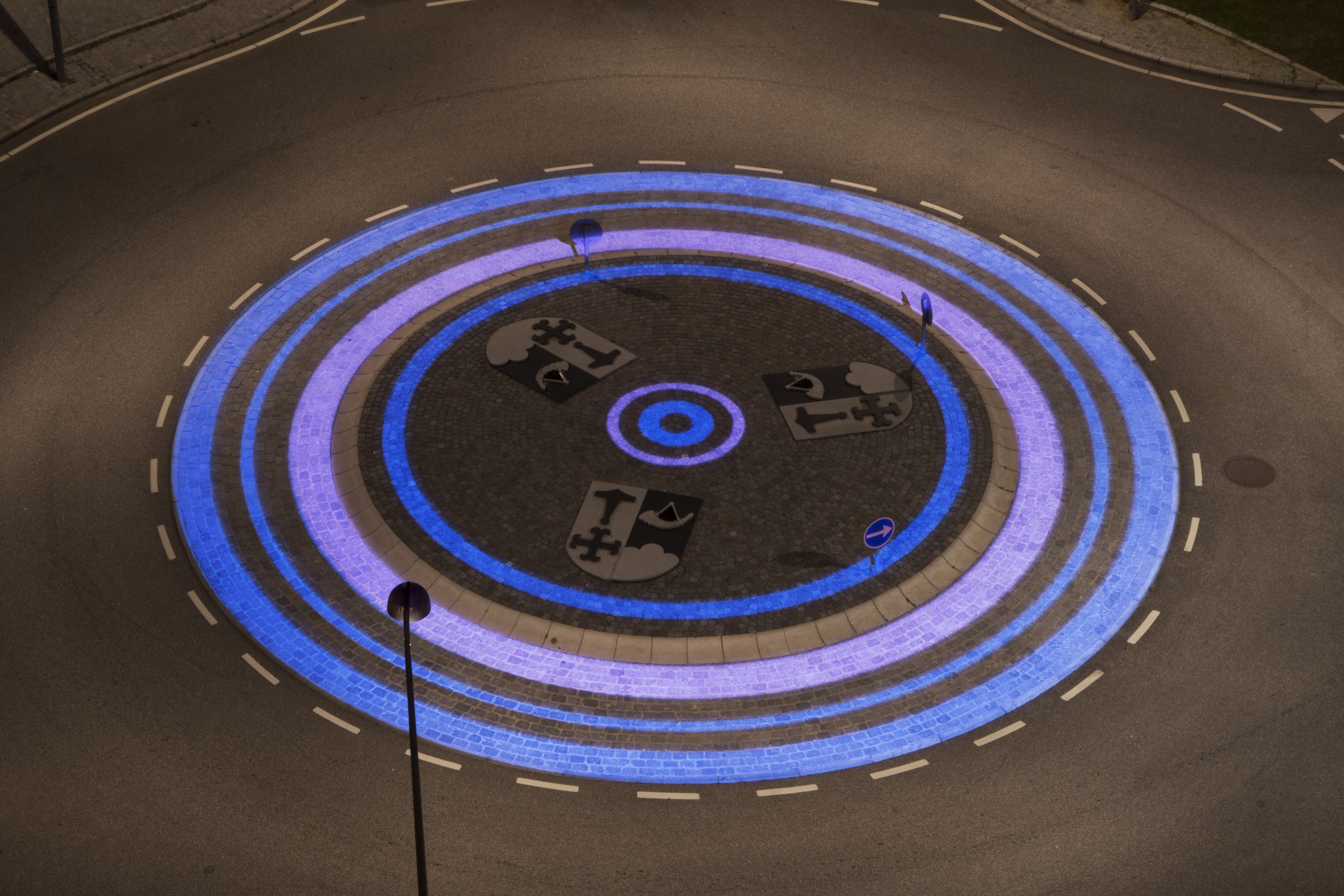 Custom Gobos Produced for ÅF Lighting Showing Finished Roundabout Project. Credit Projected Image. & Lets talk about Gobos! u2013 International Year of Light Blog azcodes.com