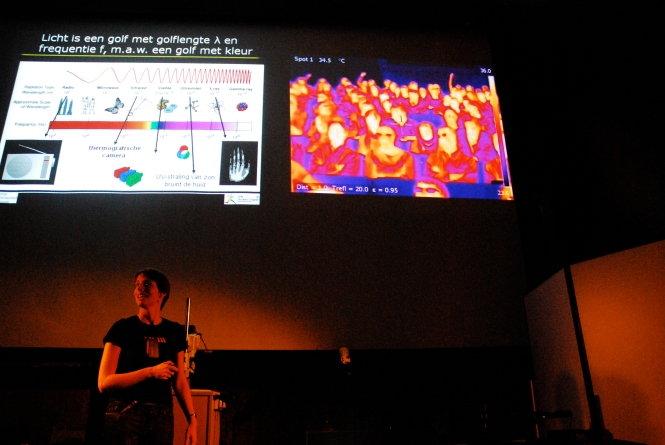 Explaining the basics of infrared imaging. Credit: B-PHOT.