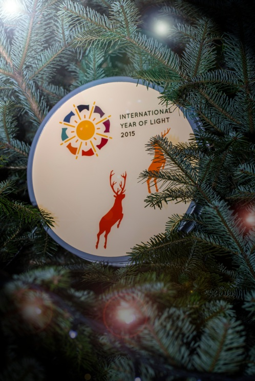 IYL 2015 Christmas light. Credits: John O'Brien.