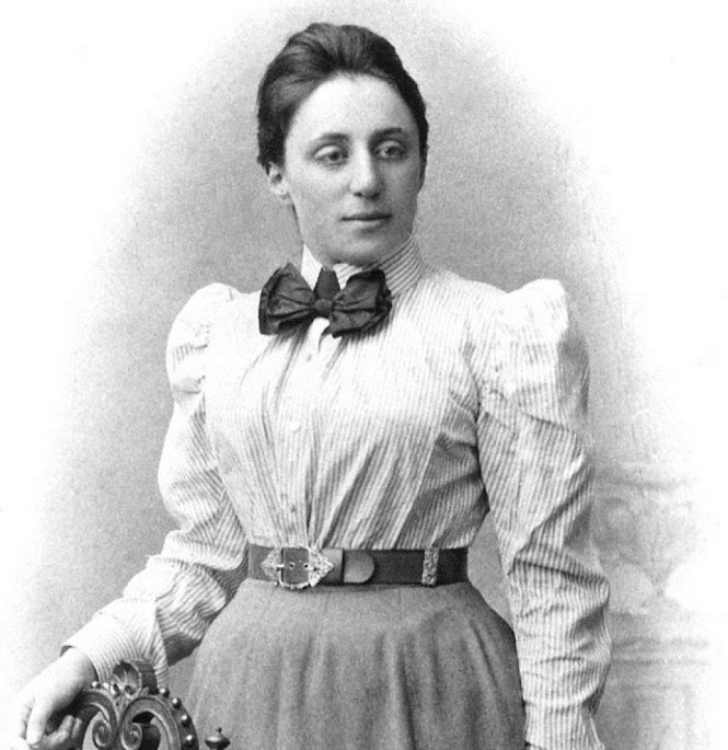 The mathematician Emmy Noether was one of the greatest minds of the XXth century. Her work was fundamental in the development of abstract algebra and theoretical physics. Credit: Courtesy of Drs. Emiliana and Monica Noether.