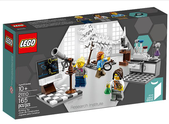"The new LEGO female minifigure set, called ""Research Institute"". Credit: LEGO."