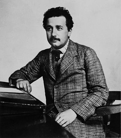 Albert Einstein in 1905. Credit: Wikipedia.