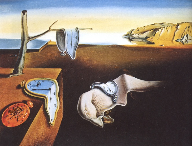 The Persistence of Memory by Salvador Dalí.
