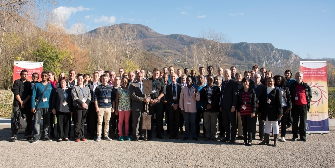 Group photo of participants on the workshop. Credit: ESRF.