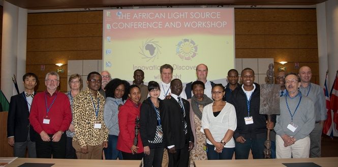 Several Researcher and Student Participants. Credit: ESRF.
